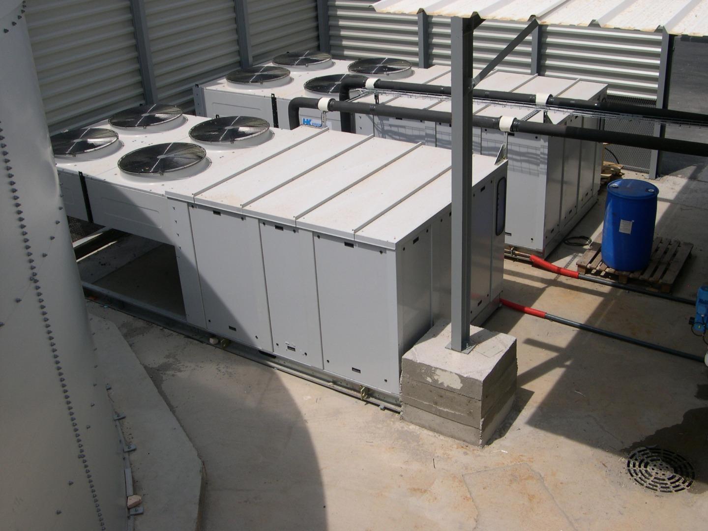 Centrale de production de glace liquide