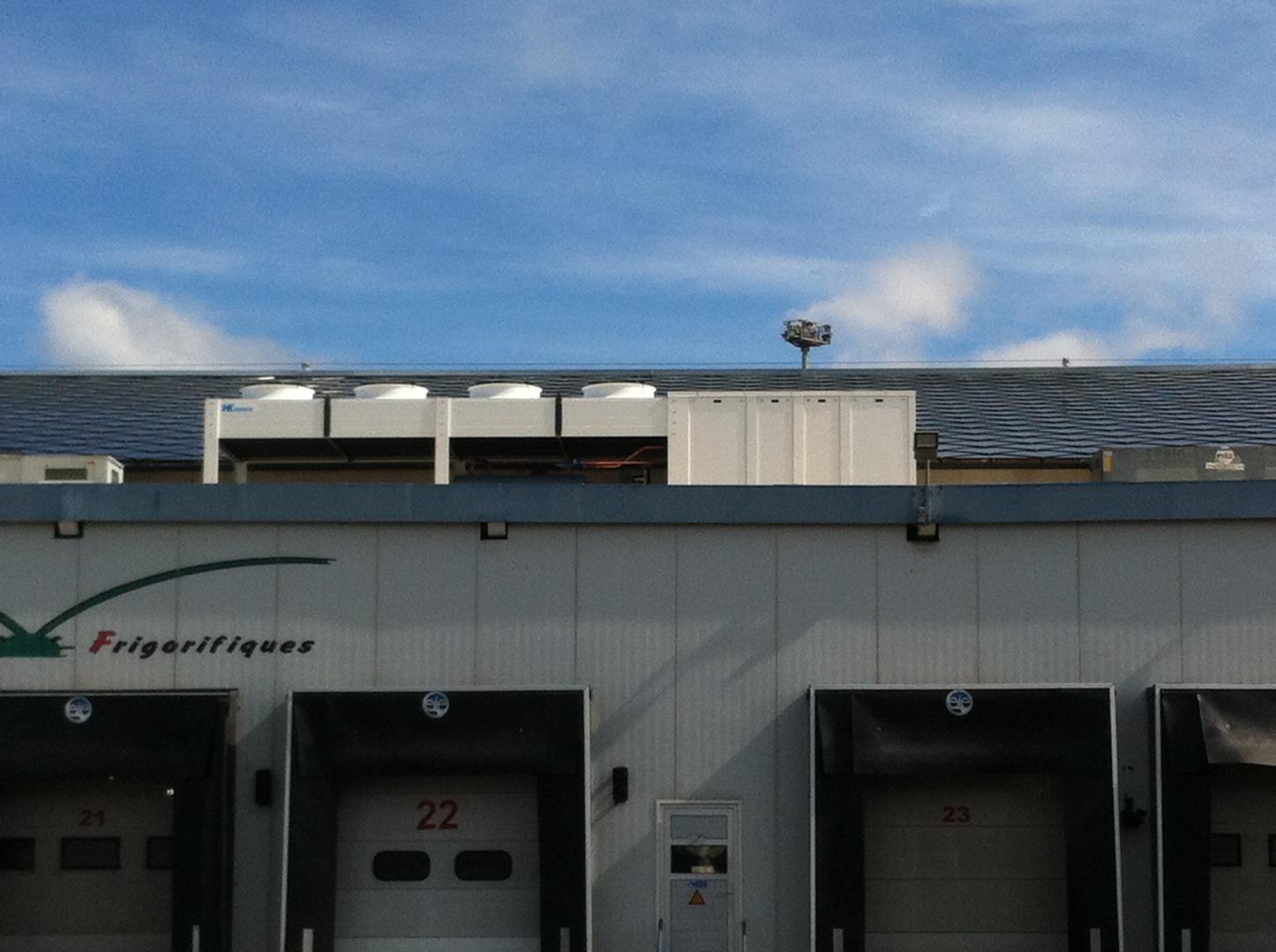 Groupes de froid en toiture