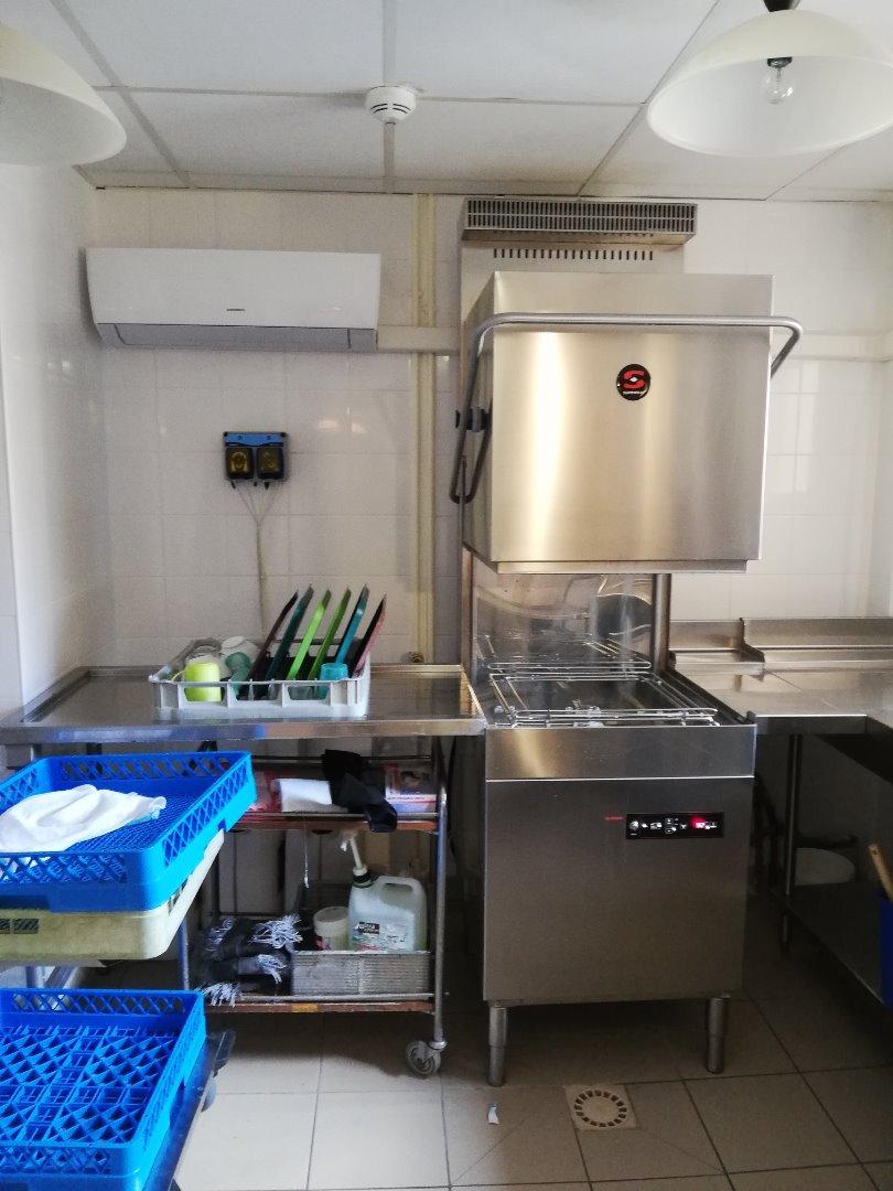 Nouvelles laveries vaisselle Résidence Coste Bails